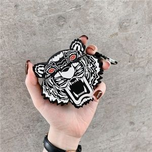 AirPods Case Cover Kenzo Tiger Design LARGE + New